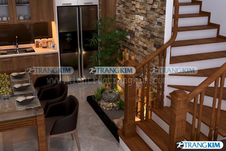 nội thất phòng khách và bếp ăn - v8