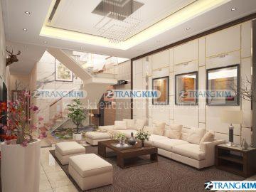 Thiết kế nội thất nhà ống 3 tầng – Chị Vân