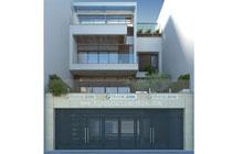 Thiết kế kiến trúc biệt thự hiện đại 3 tầng – Anh Đạt – Hà Nam