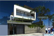 Thiết kế kiến trúc biệt thự hiện đại 3 tầng – Anh Huyền – Hà Nam