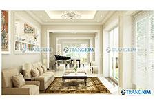 Thiết kế nội thất biệt thự vincom – Hà Nội