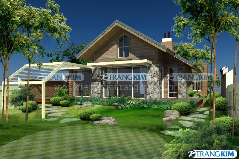 Thiết kế kiến trúc nhà vườn hiện đại – Ông Thuận