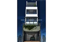 Thiết kế kiến trúc nhà ống 5 tầng – Hà Nội