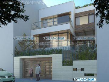 Mẫu nhà biệt thự đẹp của công ty Kiến trúc Trang Kim (p3)