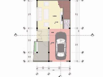 Kiến trúc biệt thự phố 2 mặt tiền - Anh Hùng