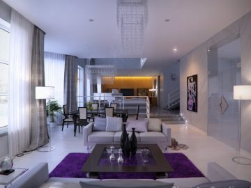 Ấn tượng với mẫu décor phòng khách hiện đại