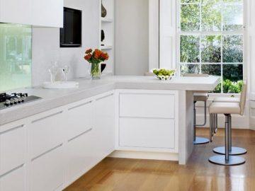 7 cách bố trí thông minh cho căn bếp hình chữ L