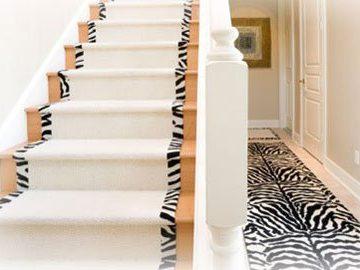 Cầu thang trải thảm: Quyến rũ và tài lộc