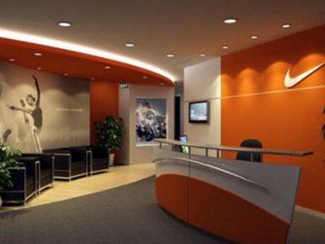 Với ảnh hưởng của thời đại công nghệ thông tin, nội thất văn phòng được bố trí đơn giản mà vẫn hiện đại.