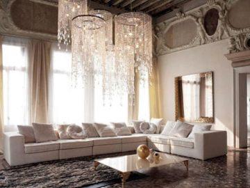 Nguyên tắc trang trí phòng khách