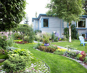 Nhà đẹp vườn xinh đón hè về