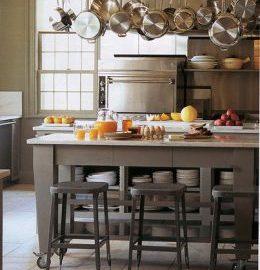 Ý tưởng cho không gian bếp hẹp