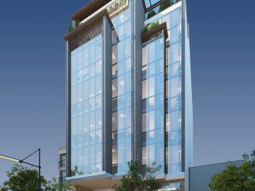 Thiết kế kiến trúc văn phòng hiện đại – Chị Thúy – Hà Nội