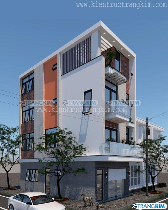 Mẫu thiết kế kiến trúc nhà ống 3, 4, 5 tầng hiện đại của Trang Kim - Phần 1 4