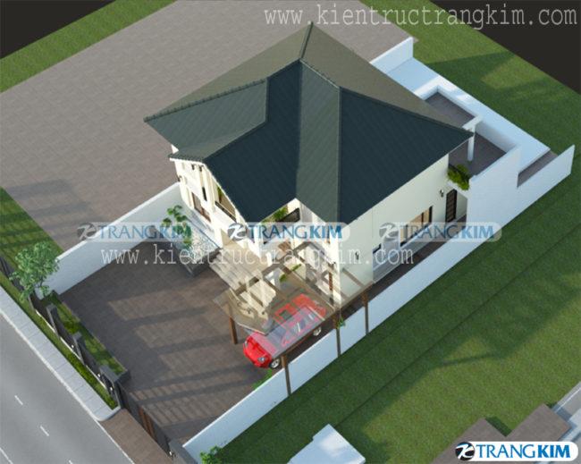 Thông tin về thiết kế biệt thự 150m2, 2 tầng tại Hà Giang 4