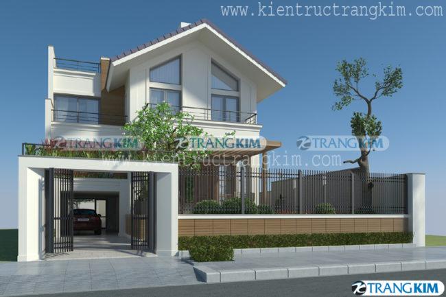 3.Thiết kế biệt thự hiện đại 1