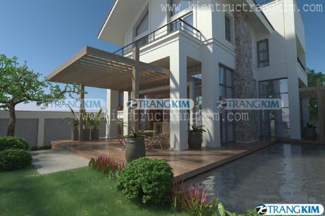 3.Thiết kế biệt thự hiện đại 3