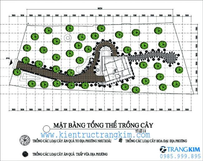 Phương án bố trí mặt băng thiết kế biệt thự nghỉ dưỡng hiện đại 2 tầng tại Ba Vì - Hà Nội 1