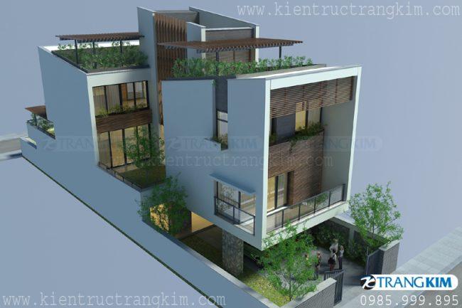 Mẫu biệt thự phố hiện đại tại Hưng Yên 1
