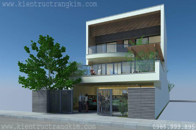 Mẫu biệt thự phố hiện đại tại Hưng Yên 4