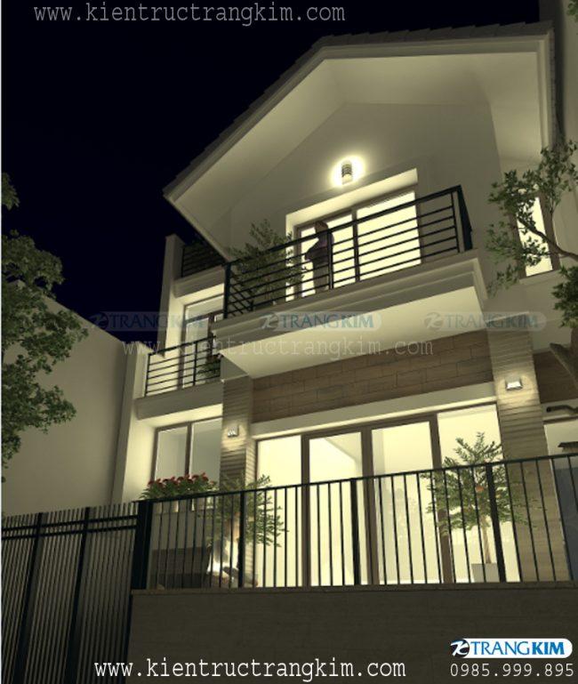 Hình ảnh phối cảnh thiết kế biệt thự đẹp, hiện đại tại Thái Bình 4
