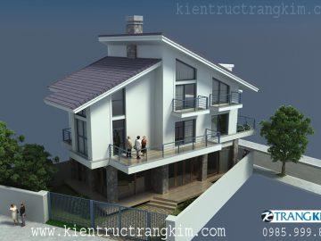 Mẫu thiết kế biệt thự hiện đại 2 tầng, 3 tầng, 4 tầng