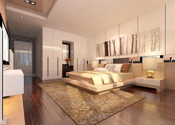 Hình ảnh nội thất nhà nghỉ trên mảnh đất 8x20m 1