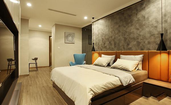 Hình ảnh nội thất nhà nghỉ trên mảnh đất 8x20m 3
