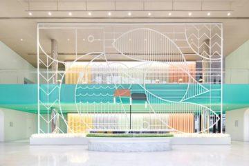 Thiết kế trường học tại Trung Quốc với tông mầu Pastel